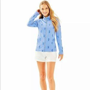 Lilly Pulitzer Bennett Sweater Pineapple Burnout